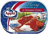 Appel hering filetti pomodori-Crema, confezione da 10(10x 200g Barattolo)