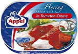Appel Heringsfilets in Tomaten-Creme