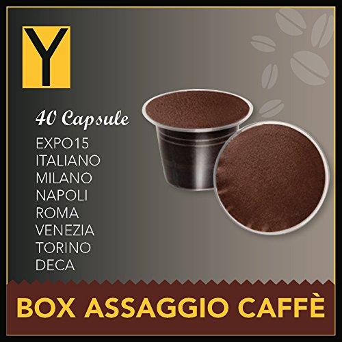 40 CAPSULE NESPRESSO BOX ASSAGGIO 8 miscele