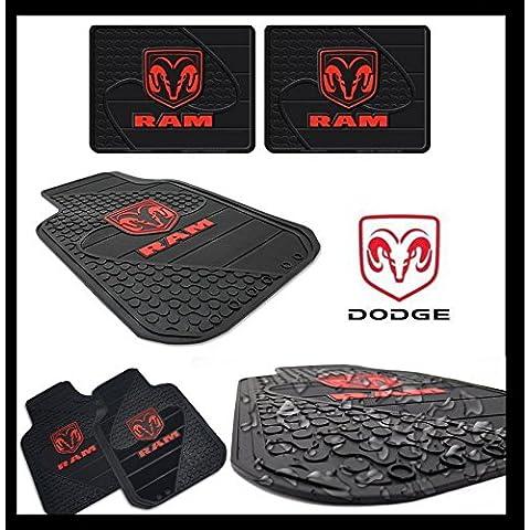Premium 4Soporte Juego de alfombrillas para Dodge Ram 150025003500
