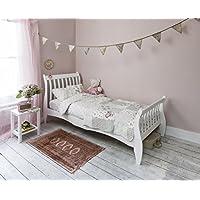 Noa and Nani - Astrid 3ft Single Sleigh Bed - (White)