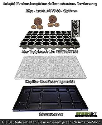 50 St. Jiffy® von GREEN24 Original Quell-Tabletten Torf-Quelltöpfe Aussaaterde Anzuchterde Torftablette mit Anleitung (St./0,12 EUR) von GREEN24 bei Du und dein Garten