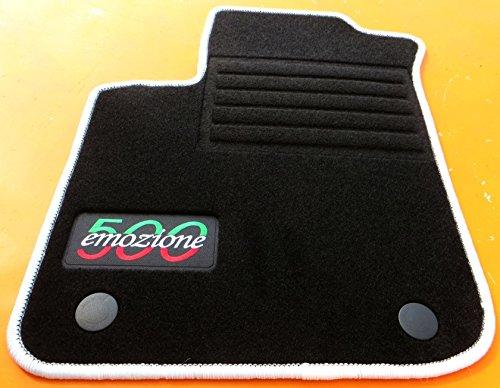 TN-Classic Fussmatten Autofußmatten Autoteppiche Passform VFI0003079LwruE - 500 Fußmatte Autoteppich, Fiat