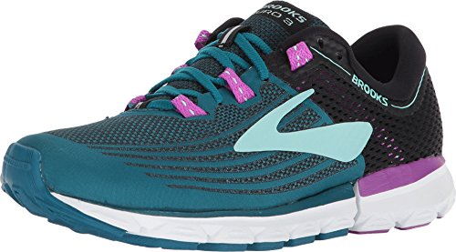 Brooks Neuro 3, Zapatillas de Running para Mujer, (Lagoon/Black/Purple 329), 36.5 EU