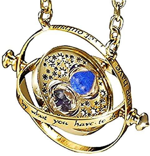Inception Pro Infinite Hermine Granger Halskette - Sanduhr - Blauer Sand