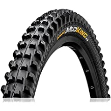 Continental Race King - Cubierta de rueda (densidad: 84 TPI), color negro