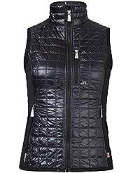 J. tilo Berg Bona Hybrid Vest, Black (9999)