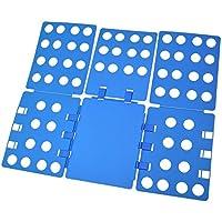 Gearmax® Carpeta Ropa - Vestido Adulto Pantalones Toallas Camiseta Carpeta Carpeta / Camisa / Carpeta de Lavandería Junta Organizador, Azul
