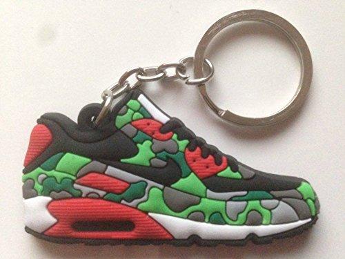 Preisvergleich Produktbild Nike Air Max Schlüsselanhänger Camouflage Sneaker Keychain