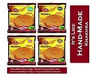 Kumar Khakhra All time Hit Combo (Methi, Bajra Methi, Masala and Chilli Garlic) 200gm Each (Pack of 4)