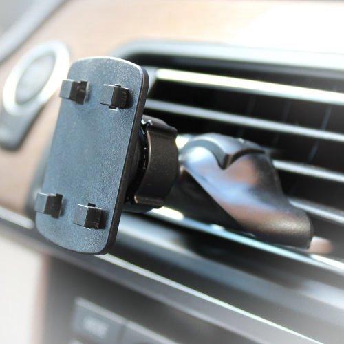 AutoScheich® Navi Lüftung Halterung Halter für Becker Falk Medion TomTom GPS 4 Krallen Loch Monitor KFZ LKW