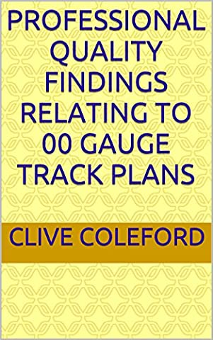 Professional Quality Findings Relating To 00 Gauge Track Plans