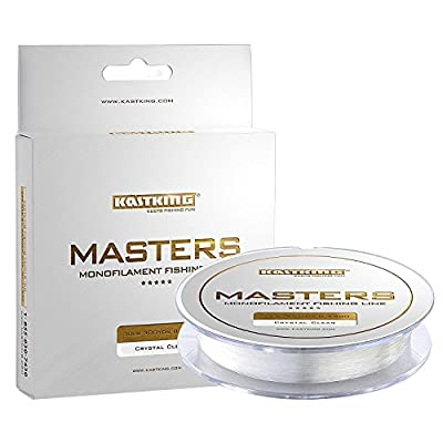 KastKing Masters Tournament Grade Monofilament Fishing Line - Pro Series Mono Line Premium Fishing Line - Super Smooth Casting, Abrasion Resistant, and Superior Strength -Award Winning from Eposeidon