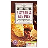 Morrisons Deep Filled Steak and Ale Pies, 440g (Frozen)