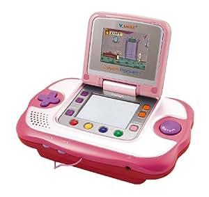Vtech vsmile cyber pocket pink with cinderella learning game toys games - Console vtech vsmile pocket ...