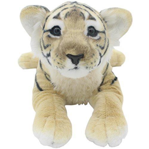 TAGLN Peluches Juguetes Tiger Animales Leopardo Guepardo León Pantera Almohadas (Tigre Marrón, 60 CM)
