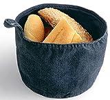 Design Brotkorb im Jeans Look Edel Grill BBQ Tablet Besteck Brot Kasten Korb Körbchen Designer
