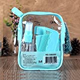 CONNECTWIDE® Cosmetic Organizer Convenient Travel Bag 8 PCS/Set Empty Bottle Suit Empty Plastic Bottle Clam Shell Travel Bottle Series Easy To Take Cosmetics.