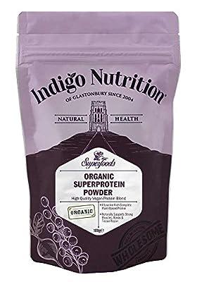 Organic SuperProtein Vegan Protein Powder Blend- (Certified Organic)