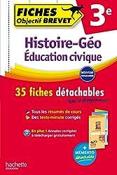 Objectif Brevet Fiches Détachables Histoire Géographie Education Civique