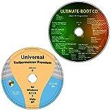 Universal Treiber-Meister CD/DVD für Windows 8.1 / 8 / 7 / Vista / XP (32 & 64 Bit) alle (PC & Notebook) Modelle + Ultimate Boot-CD / Ersthilfe & Notfall-CD für Windows Betriebssysteme [System-Diagnose- und Reparatur-Tools] (2 DVD Spar-Set)