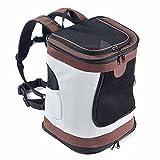 Maxmer Hunde Rucksäcke Rucksack für Hunde und Katzen Faltbare Airline Approved Atmungsaktiv Netzfenster für Hunde, Welpen, Katzen etc in Outdoor-Reise