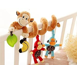 VWH M-G-X Baby Prams Stroller Bed Spiral Activity Hanging Toys from M-G-X