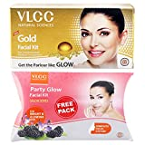 #4: VLCC Gold Facial Kit, 60g with Free Party Glow Facial Kit, 60g