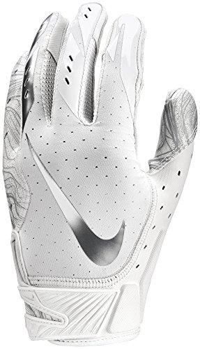Nike Vapor Jet 5.0 Design 2018, American Football Skill Handschuhe - weiß Gr. L