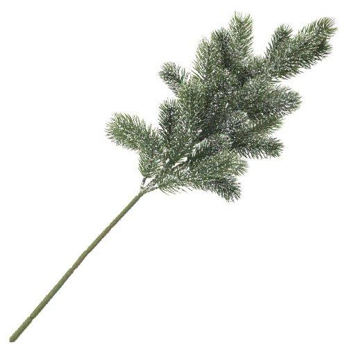 Europalms 65 cm 1 Pieza A Abeto de Polietileno Nieve Sobre Rama, Verde
