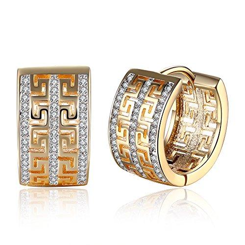 Luxus Royal Kristall Geometrie Kreolen Statement Schmuck Brautschmuck Set Geschenk für Frauen Mädchen
