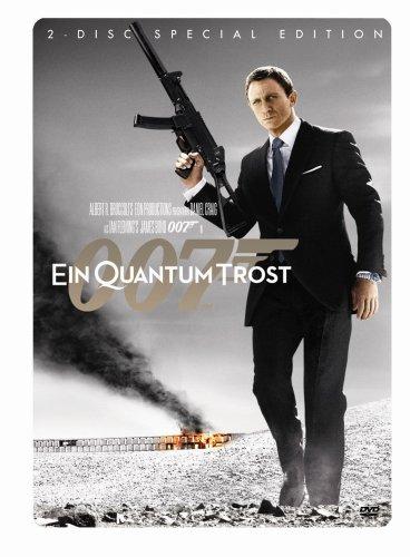 James Bond 007 - Ein Quantum Trost (Special Edition, 2-Disc Wende-Steelbook) [2 DVDs]