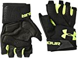Under Armour Herren Kupplung Fit Widerstand Handschuhe, Herren, Black/High-Vis Yellow