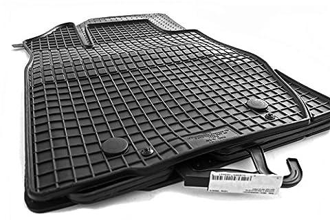 4.tlg Gummimatten Dacia Logan MCV ab 2013 Original Qualität Gummi Fußmatten schwarz