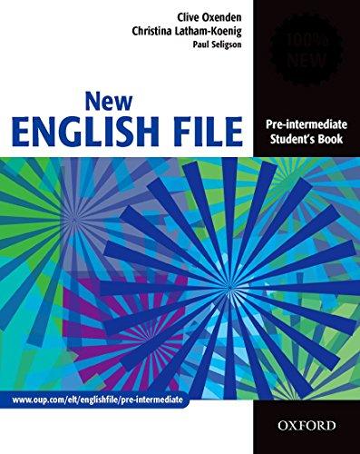 New english file. Pre-Intermediate. Student's book. Per le Scuole superiori: Student's Book Pre-intermediate lev
