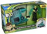 Ben 10- Vehículo Alien con Figura, Diamondhead Power Tank, (Giochi...