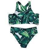 Innerternet Moda Donna Lascia Bikini Set per Costumi da Bagno Reggiseno Push-up & Trunks
