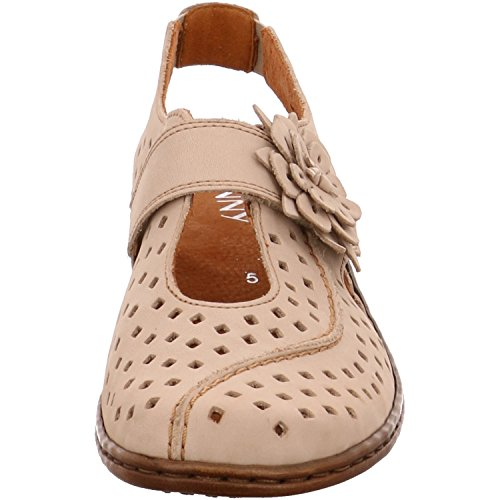 Sportif 340785 chaussures pour femme jenny Beige - cotton Weite H