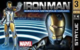 Gentle Giant–gg80402–Statue von Iron Man–métropolies Armor Variant–durchgeführt mit sorayama–Marvel–Echelle 1/4