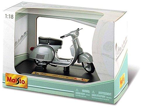 Bburago Maisto France- Moto Vespa de Collection-Echelle 1/18-Modèle Aléatoire, M34540