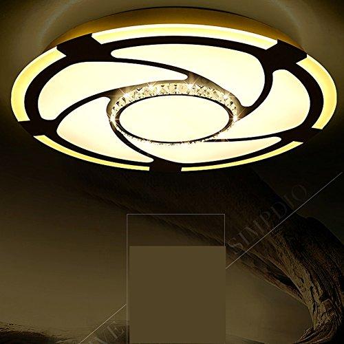 Lampadari di cristallo moderni minimalista/I salotto luci rotonde/Lampada da soffitto di cristallo atmosferici/ camera da letto luce toni-C