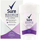 Sure Women Maximum Protection Sensitive Dry Antiperspirant Deodorant Cream - 45 ml
