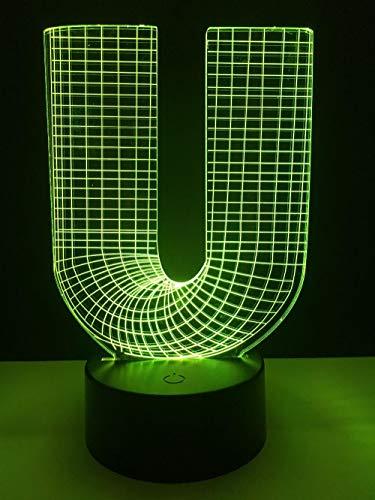 USB 3D Tischlampe USB 7 Farben Motocross Bike Night Lights Neuheit Lampe als Holiday Awards Geschenke -