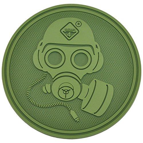 Unbekannt Hazard 44Special Forces Gas Mask Patch, Verde Oliva, One Size