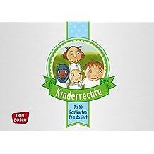Kinderrechte - 20 Postkarten fein dosiert (Fein dosiert! Postkarten in einer hochwertigen und wiederverwendbaren Metalldose)
