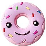Fancyku Baby Teething Toy Bendable & Freezer Friendly Teethers Soft Silicone BPA-Free Natural Organic Infant Toys