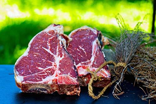 Original T-Bone Steak vom Black Angus-Rind, Dry Aged Gesamtgewicht 650