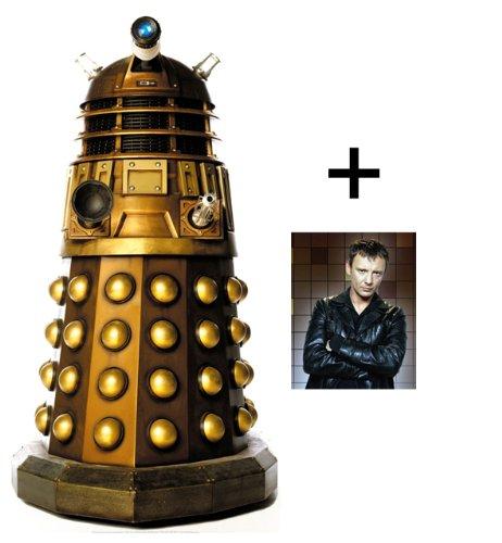 *FANBÜNDEL* - DALEK CAAN - Tischgröße PAPPFIGUREN / STEHPLATZINHABER / AUFSTELLER (Größe 80cm) - BBC Doctor Who / Dr Who / Dr. Who - ENTHÄLT 8x10