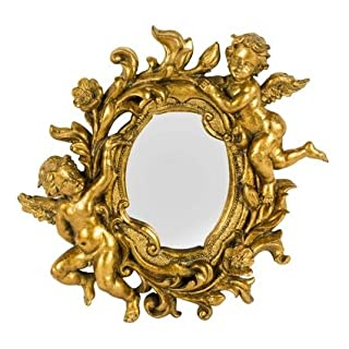 arterameferro Wall Mirror Baroque in Resin Paste Baroque