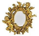 Specchio barocco da parete in pasta di resina barocco